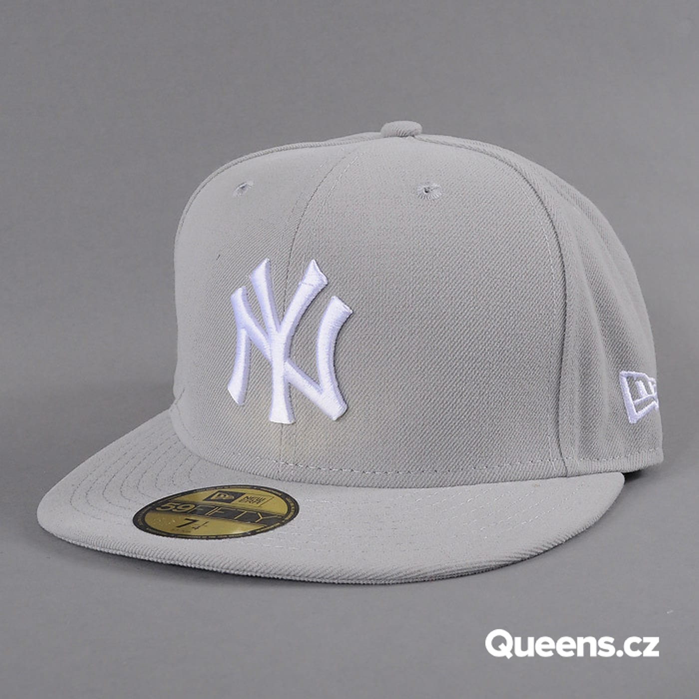 New Era MLB Basic NY grau / weiß