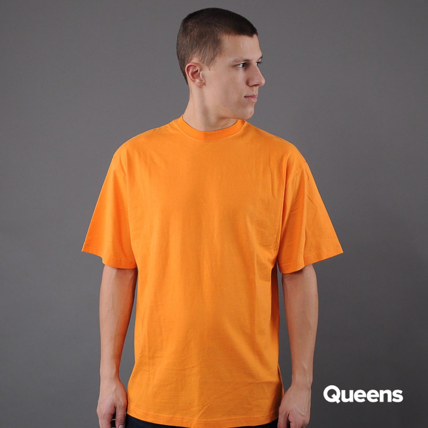 Urban Classics Tall Tee oranžové