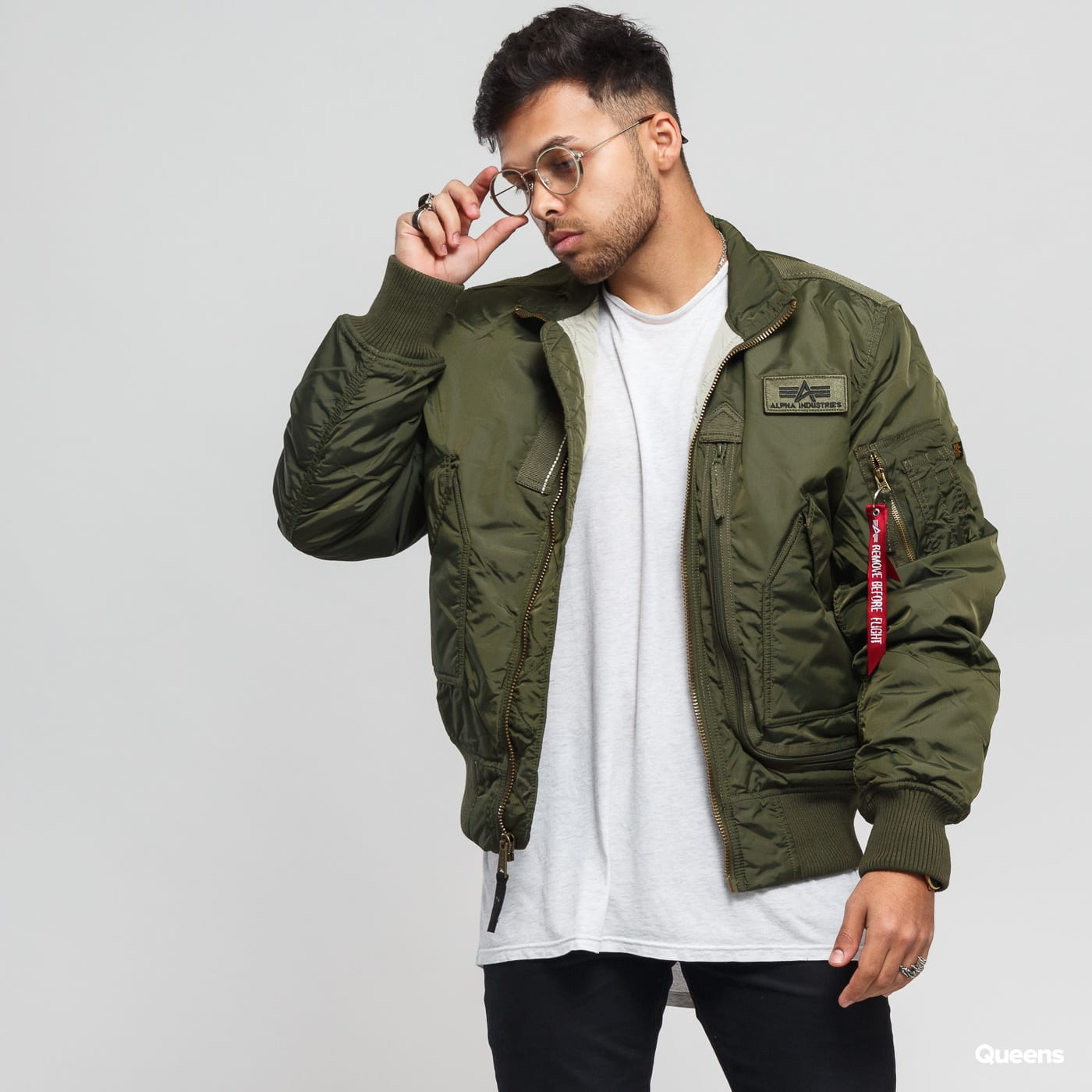 3e824d017 Bomber bunda Alpha Industries Engine (103101 257) – Queens 💚