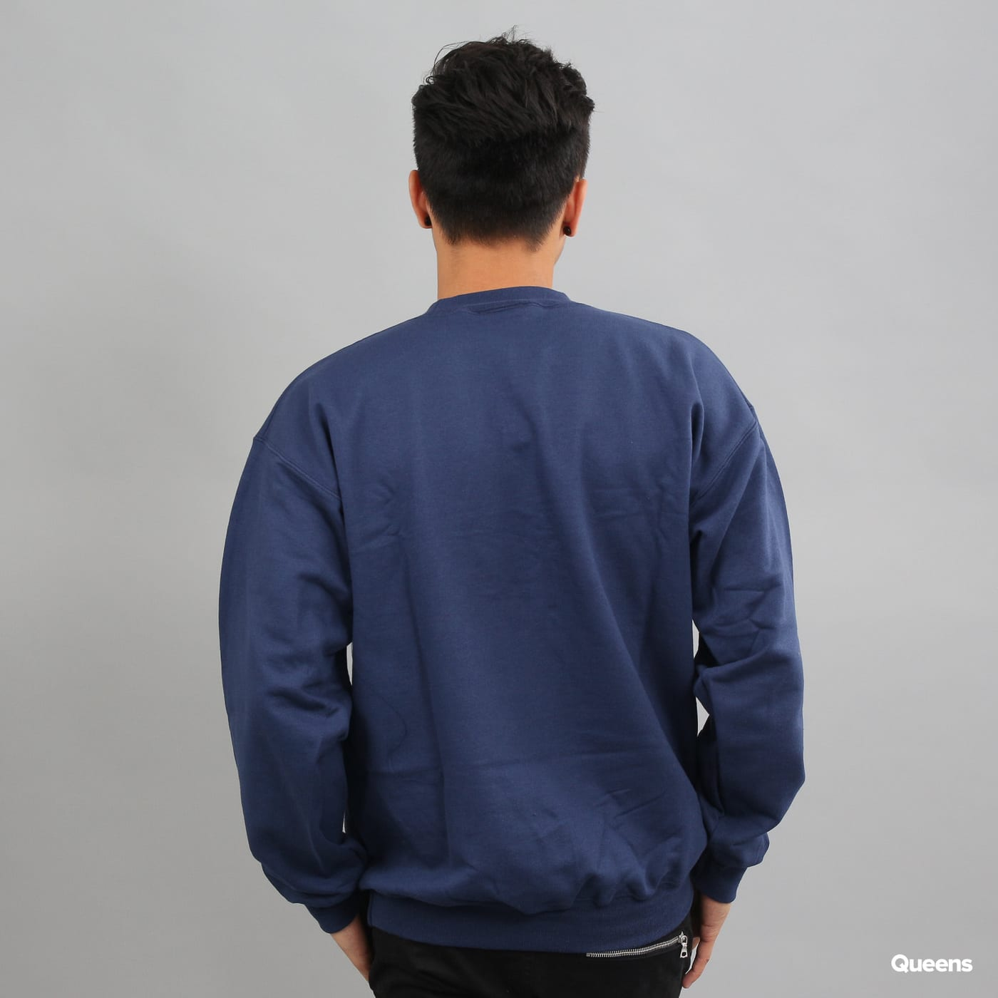 Thrasher Outlined Crewneck Marine