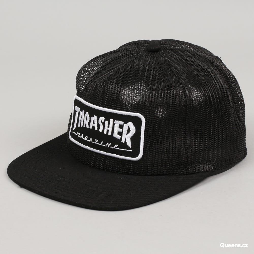 40038e3ea72 Cap Thrasher Magazine Logo Mesh – Queens 💚