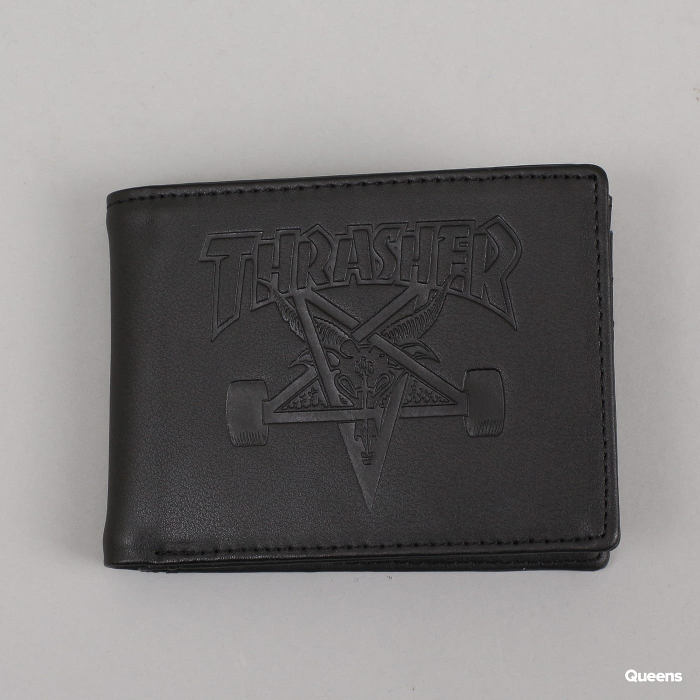 Thrasher Skategoat Leather Wallet schwarz