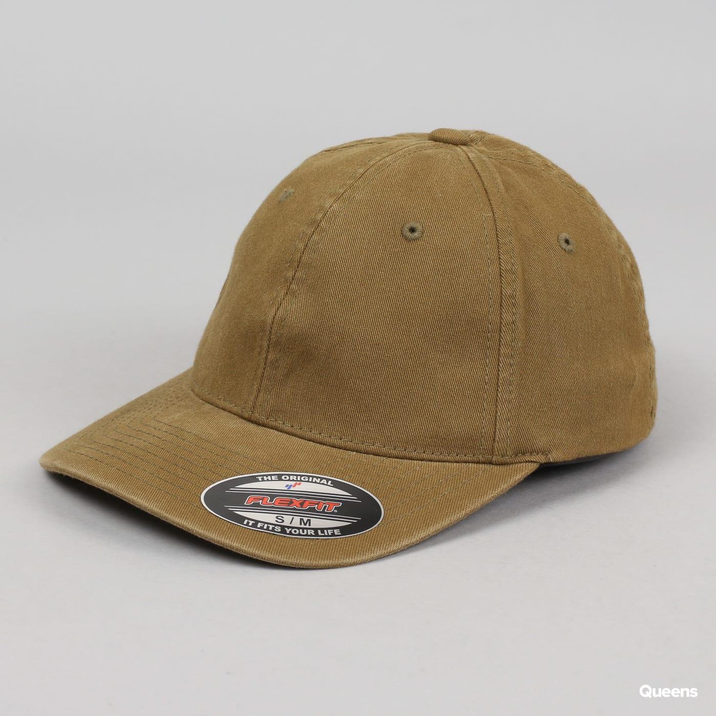 4c4da5b8314 Cap Yupoong Flexfit Garment Washed Cotton Dad Hat (6997)– Queens 💚