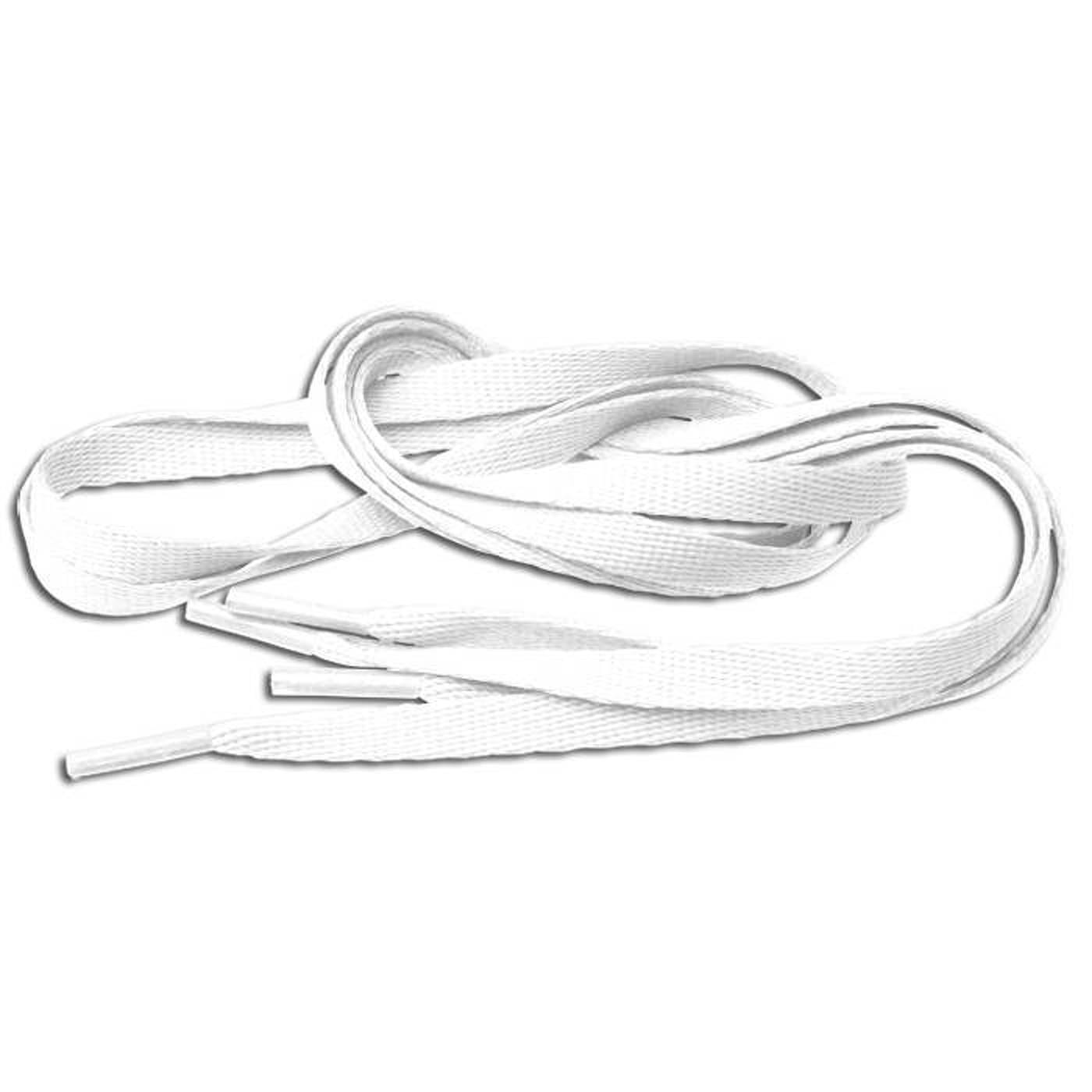MD Tube Laces 120 white