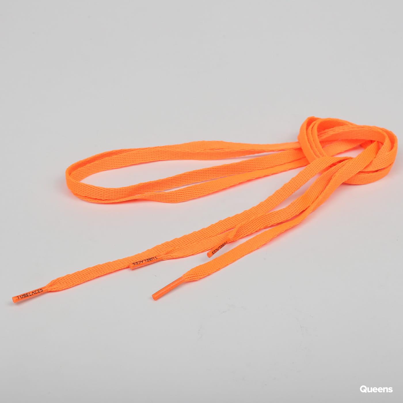 MD Tube Laces 120 neon oranžové