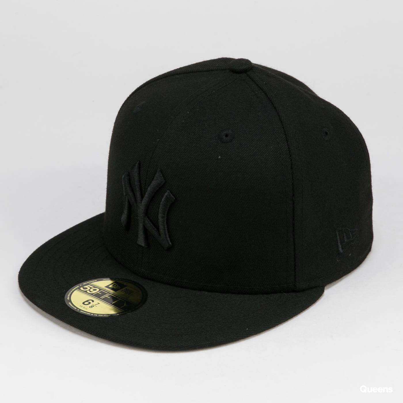 New Era Black On Black NY C/O čierna
