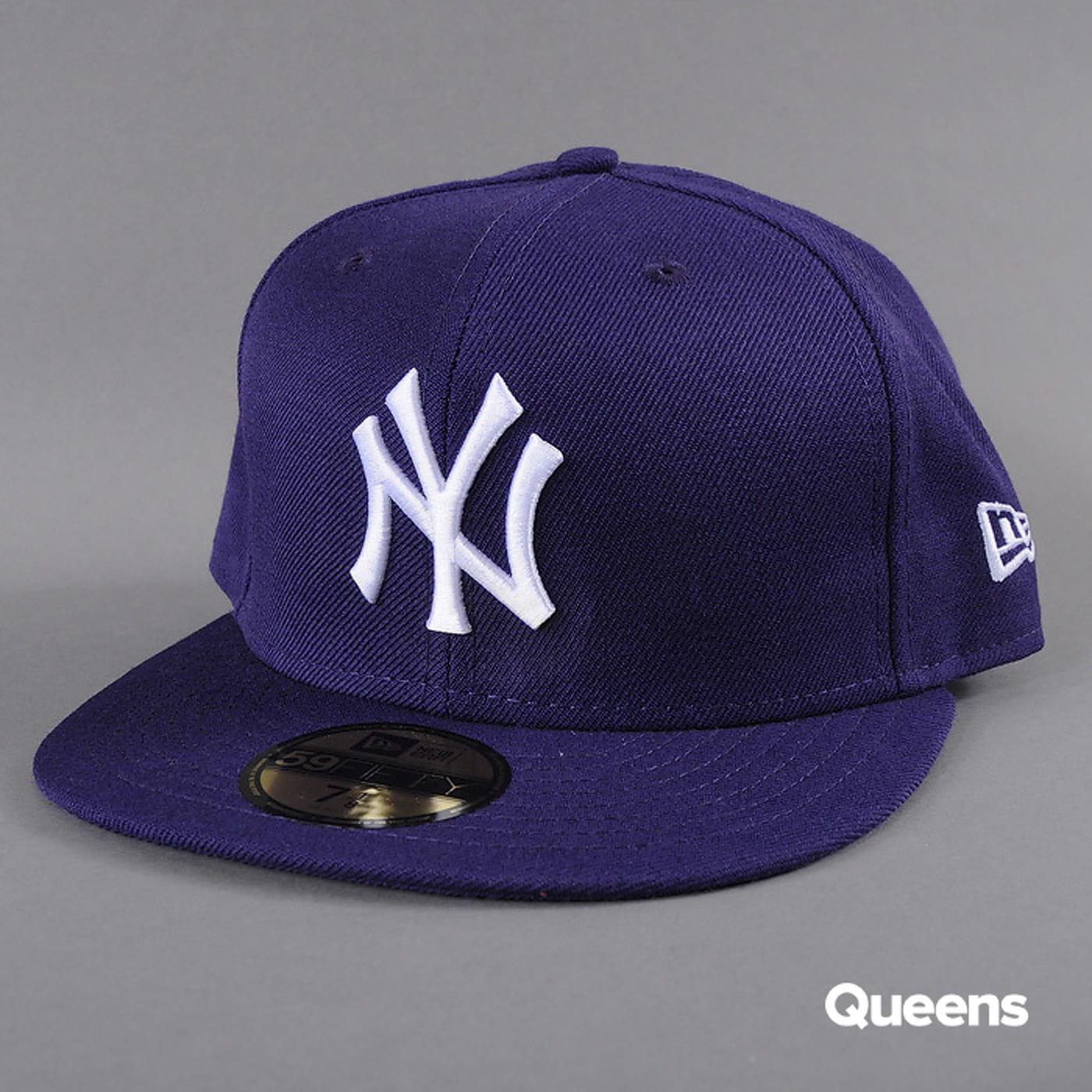 New Era MLB Basic NY fialová / biela