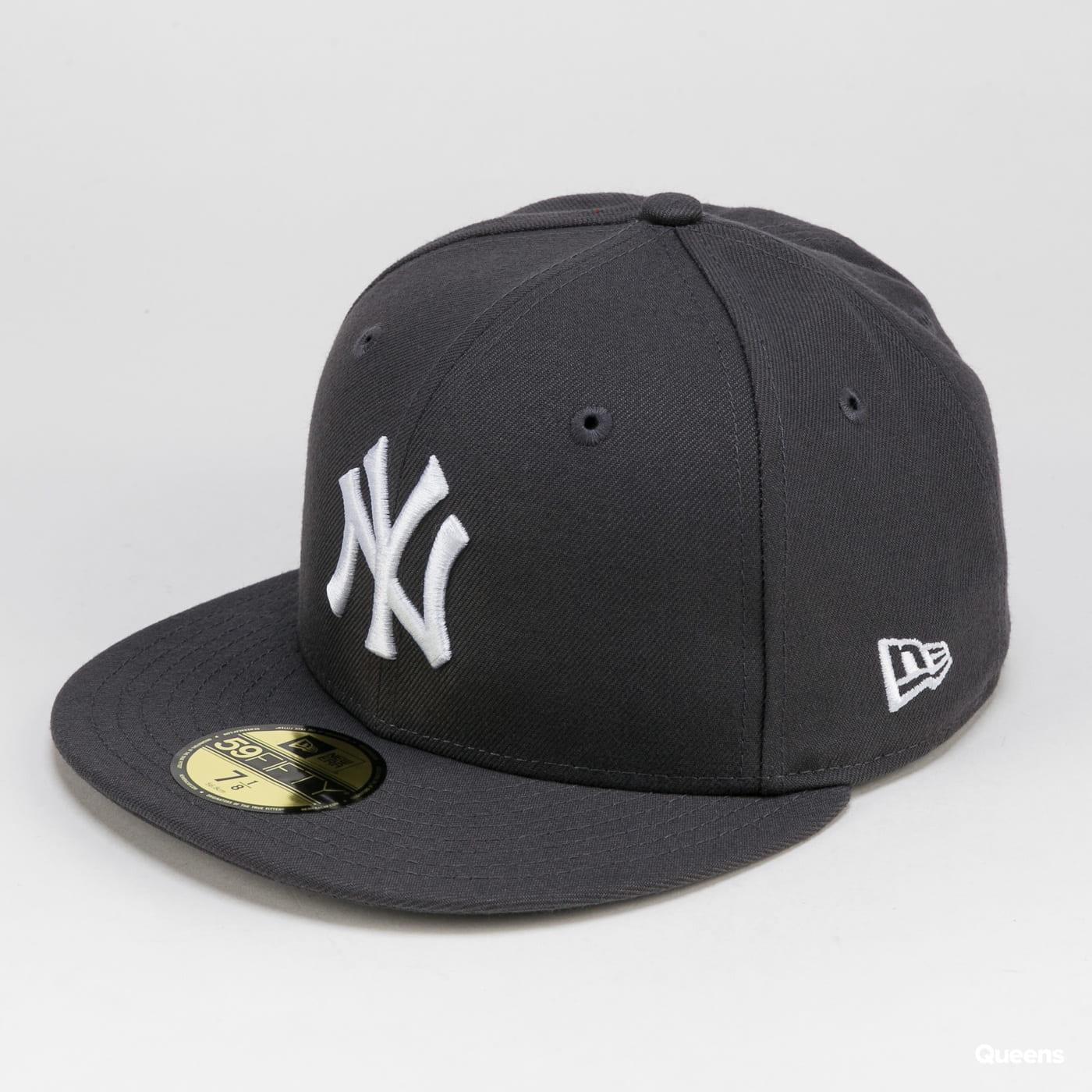 New Era MLB Basic NY C/O dunkelgrau / weiß