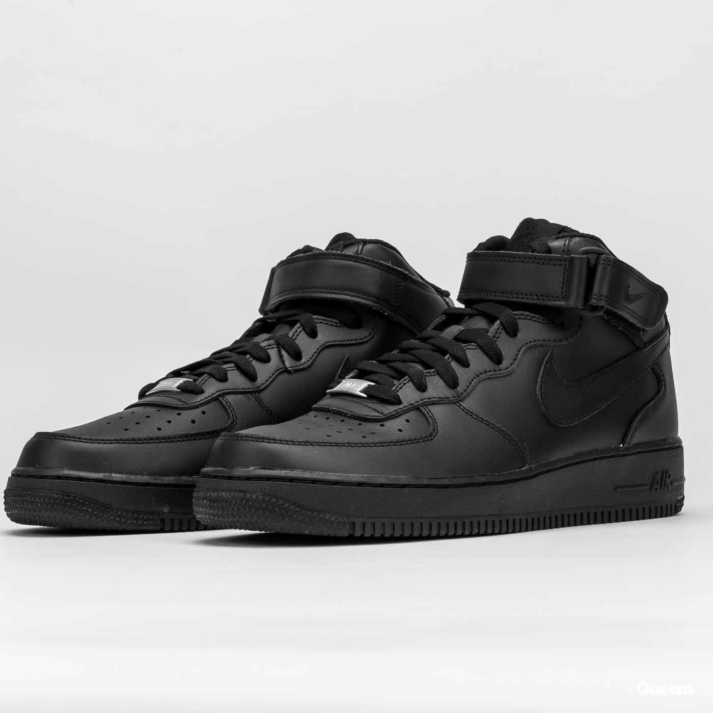Nike Air Force 1 Mid '07 schwarz / schwarz - schwarz