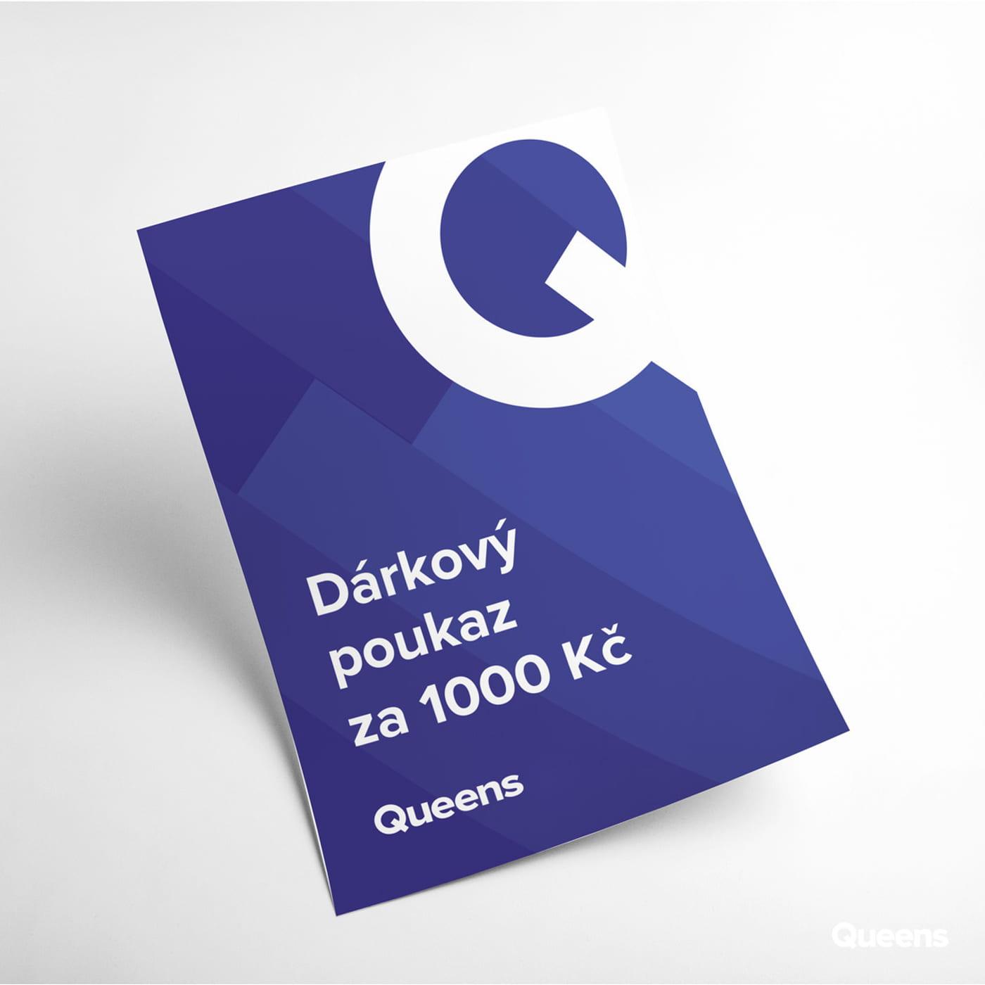 Queens Git voucher 1 000 CZK