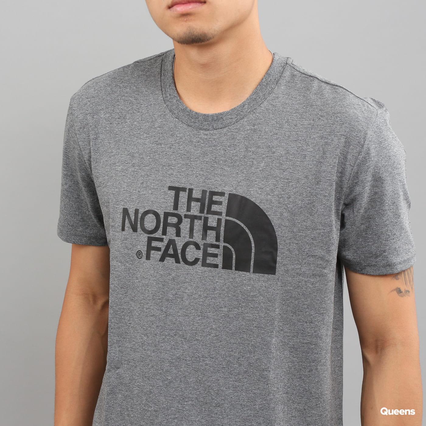 The North Face Easy Tee dunkelgrau melange