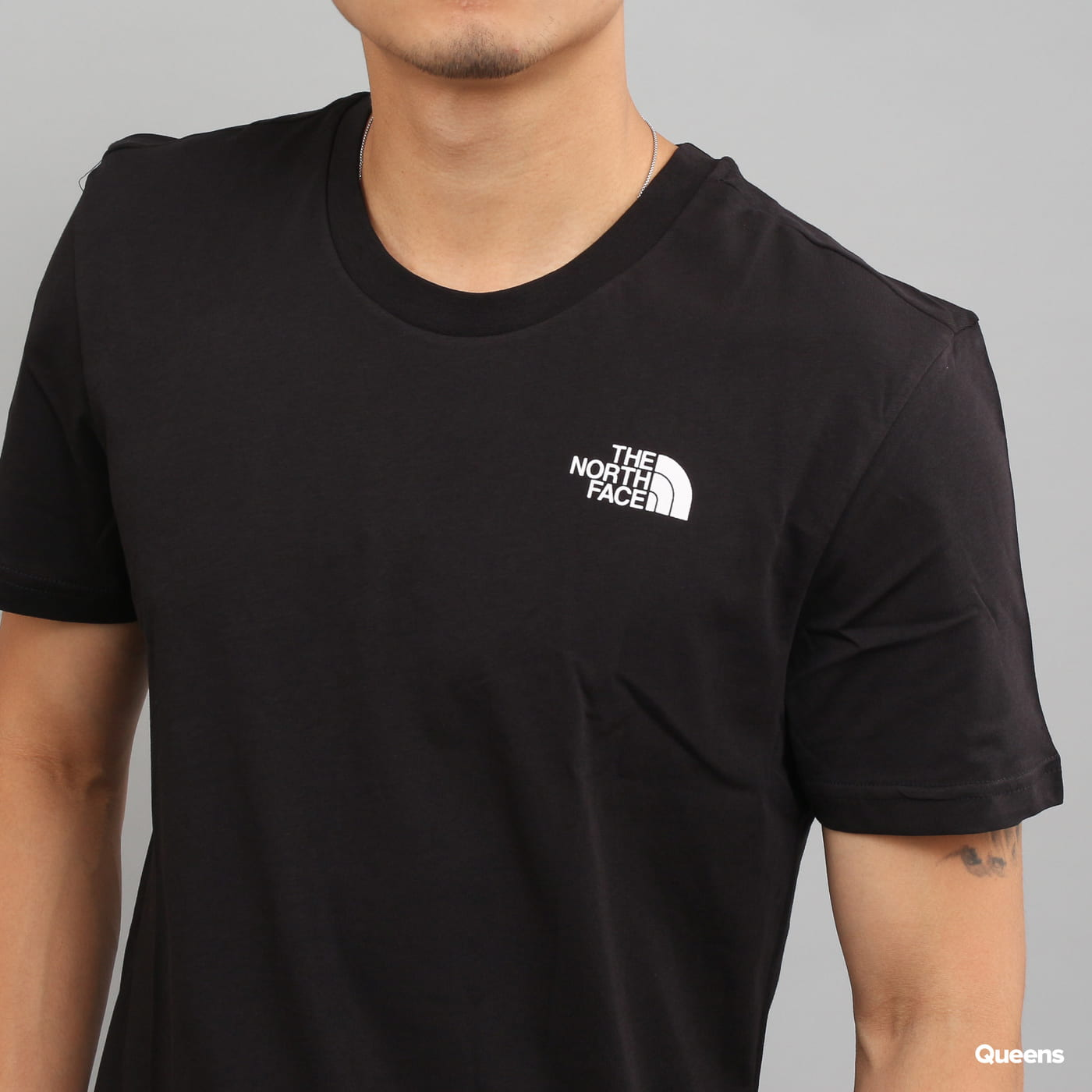 The North Face Simple Dome Tee schwarz