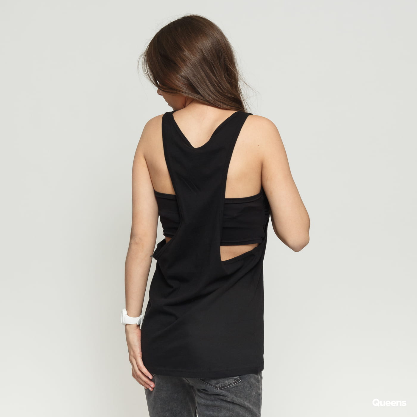 Urban Classics Ladies Loose Tank schwarz