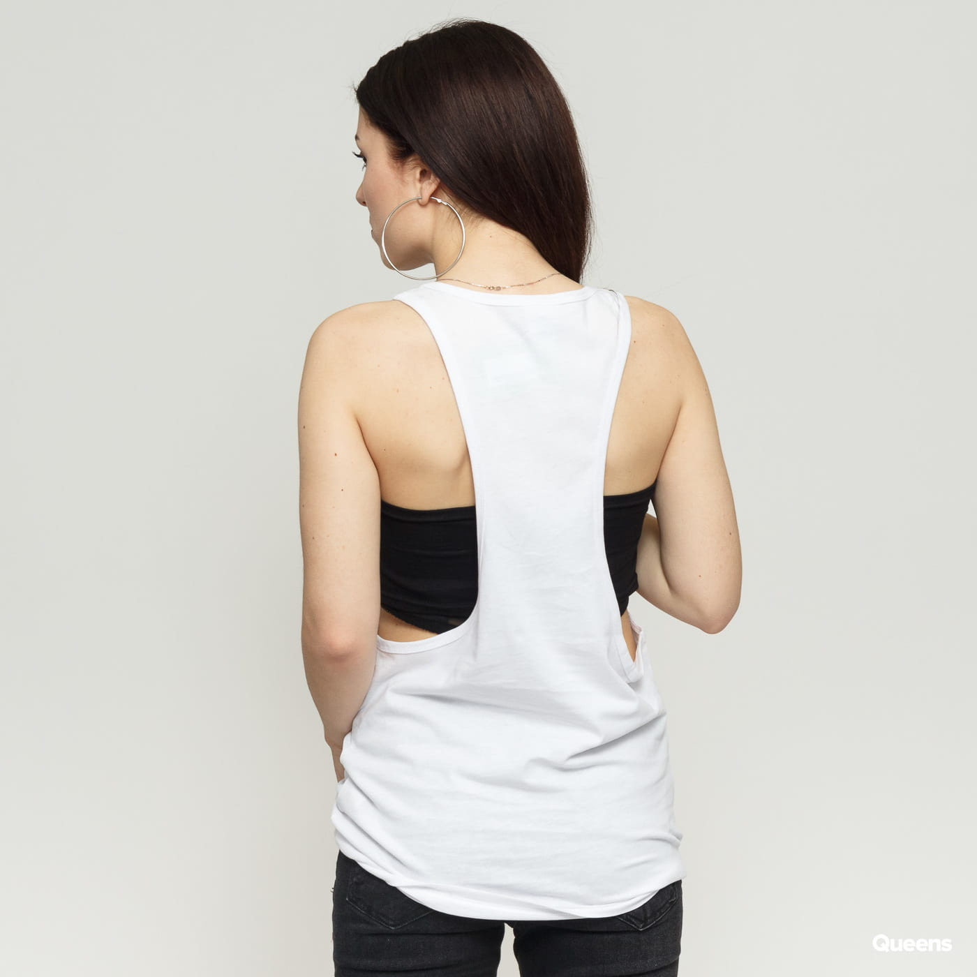 Urban Classics Ladies Loose Tank weiß