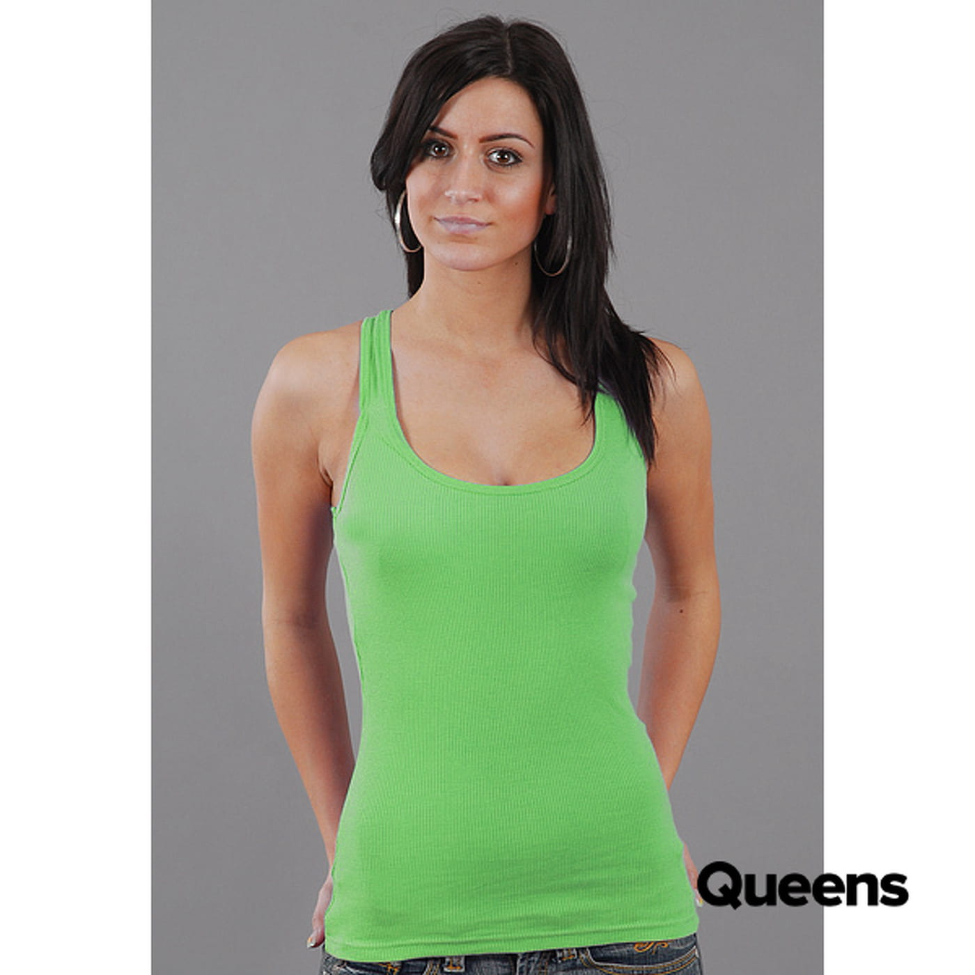 Urban Classics Ladies Tanktop green