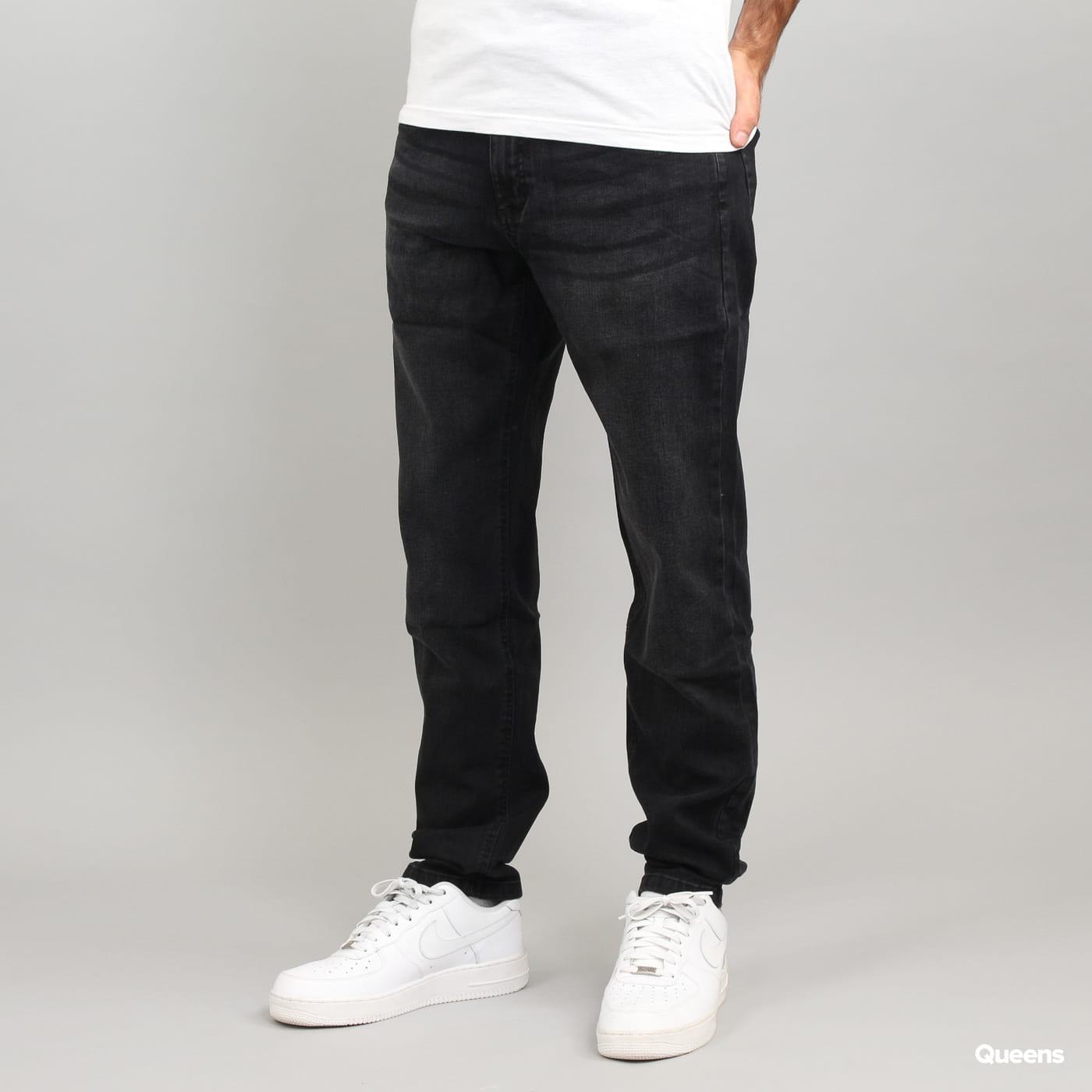 Urban Classics Stretch Denim Pants schwarz gewaschen