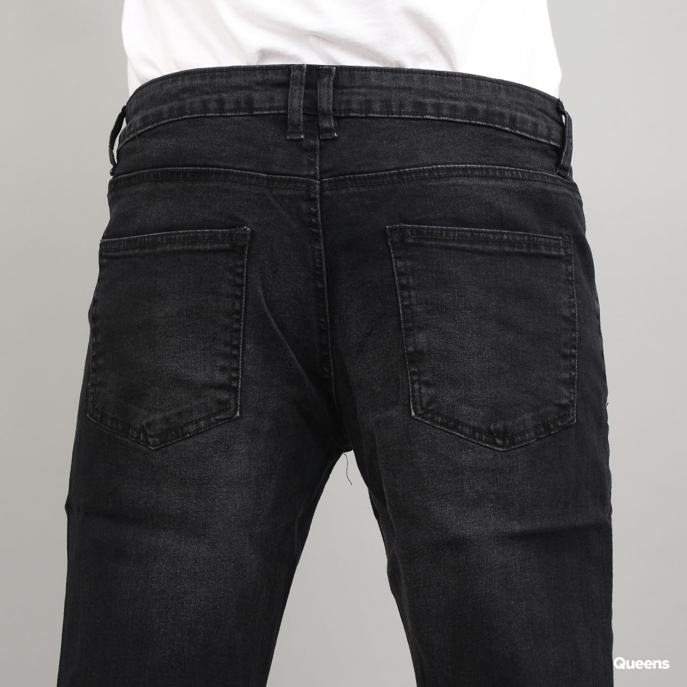 Urban Classics Stretch Denim Pants black washed
