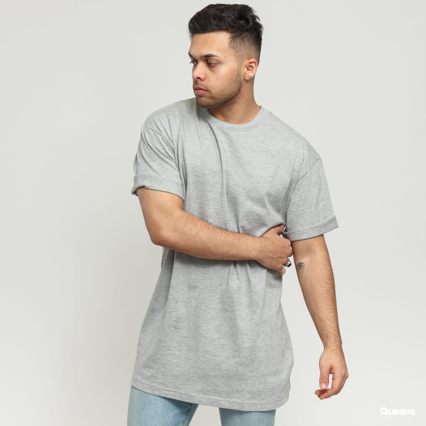 Urban Classics Tall Tee gray