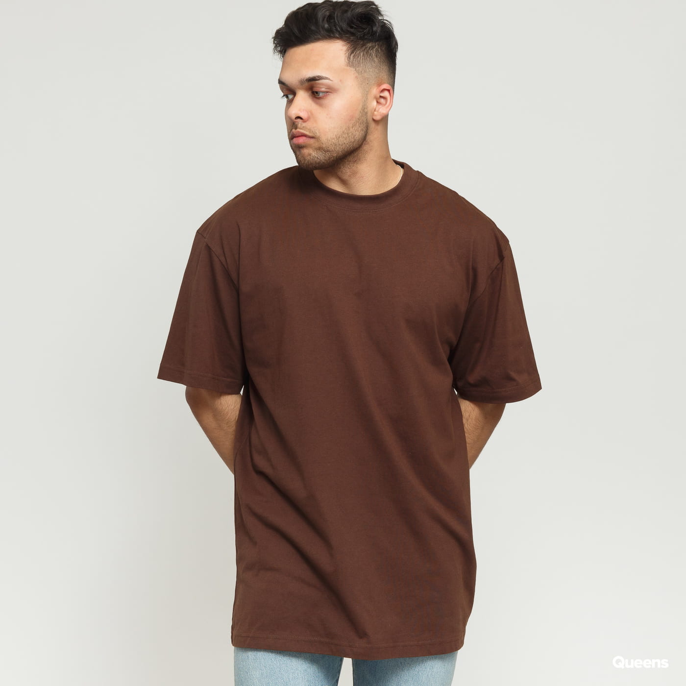 Urban Classics Tall Tee brown