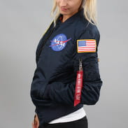 Alpha Industries WMNS MA - 1 VF NASA navy
