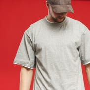 Urban Classics Contrast Tall Tee gray / white