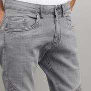 Urban Classics Slim Fit Biker Jeans grey