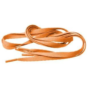 MD Tube Laces 140 oranžové