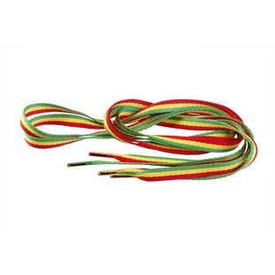 MD Tube Laces 120 rasta