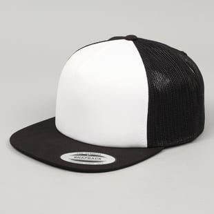 Urban Classics / Yupoong Foam Trucker With White Front