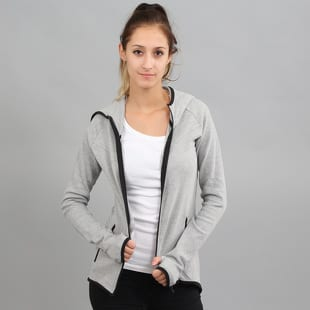 Urban Classics Ladies Athletic Interlock Zip Hoody