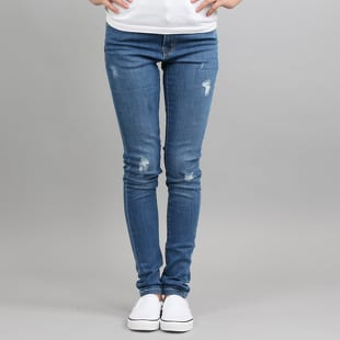 Urban Classics Ladies Ripped Denim Pants
