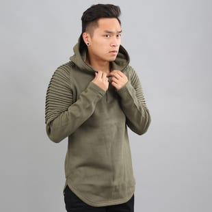 Urban Classics Pleat Sleeves Terry Hoody