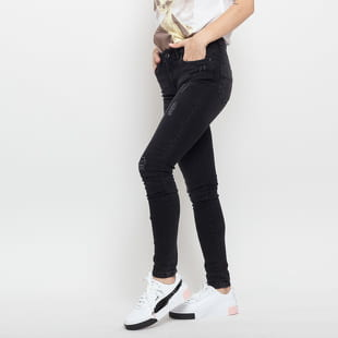 Urban Classics Ladies Ripped Denim Pants